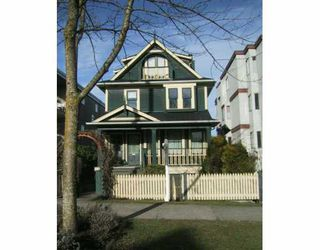 Photo 1: 2025 W 5TH Ave in Vancouver: Kitsilano House 1/2 Duplex for sale (Vancouver West)  : MLS®# V627966