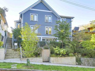 Photo 1: 1 1540 GRANT Street in Vancouver: Grandview VE Townhouse for sale (Vancouver East)  : MLS®# R2211717