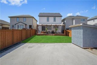 Photo 20: 252 Brookfield Crescent in Winnipeg: Bridgwater Lakes Residential for sale (1R)  : MLS®# 1812464