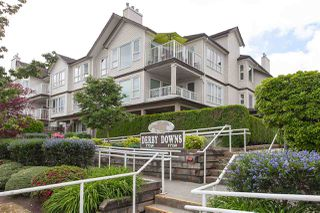 """Photo 1: 108 17740 58A Avenue in Surrey: Cloverdale BC Condo for sale in """"Derby Downs"""" (Cloverdale)  : MLS®# R2274025"""