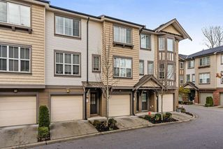"Main Photo: 15 14838 61 Avenue in Surrey: Sullivan Station Townhouse for sale in ""Sequoia"" : MLS®# R2319450"