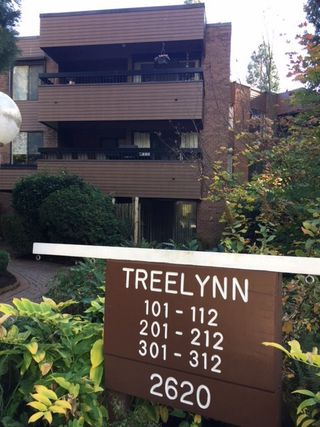 "Main Photo: 105 2620 FROMME Road in North Vancouver: Lynn Valley Condo for sale in ""TREELYN"" : MLS®# R2322475"