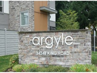 "Photo 2: 62 34248 KING Road in Abbotsford: Poplar Townhouse for sale in ""The Argyle"" : MLS®# F1325093"