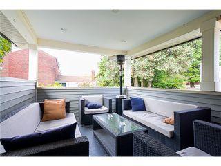 Photo 2: 318 BURNS Street in Coquitlam: Coquitlam West 1/2 Duplex for sale : MLS®# V1046054