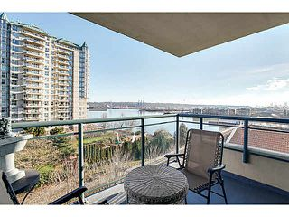 "Photo 1: 602 8 LAGUNA Court in New Westminster: Quay Condo for sale in ""THE EXCELSIOR"" : MLS®# V1102450"