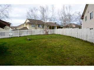 "Photo 20: 3291 NADEAU Place in Abbotsford: Abbotsford West House for sale in ""TOWLINE"" : MLS®# F1432917"