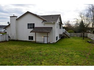 "Photo 19: 3291 NADEAU Place in Abbotsford: Abbotsford West House for sale in ""TOWLINE"" : MLS®# F1432917"