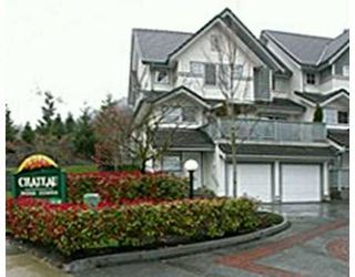 "Photo 1: 1 2382 PARKWAY BV in Coquitlam: Westwood Plateau Townhouse for sale in ""CHATEAU RIDGE"" : MLS®# V531386"