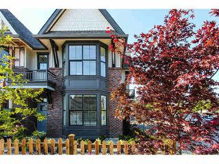 "Photo 1: 33 33460 LYNN Avenue in Abbotsford: Central Abbotsford Townhouse for sale in ""ASTON ROW"" : MLS®# F1440584"