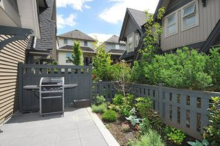 "Photo 17: 23 19095 MITCHELL Road in Pitt Meadows: Central Meadows Townhouse for sale in ""BROGDEN BROWN"" : MLS®# R2180614"