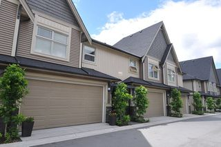 "Photo 1: 23 19095 MITCHELL Road in Pitt Meadows: Central Meadows Townhouse for sale in ""BROGDEN BROWN"" : MLS®# R2180614"