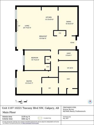 Photo 2: 1107 10221 TUSCANY Boulevard NW in Calgary: Tuscany Condo for sale : MLS®# C4125654