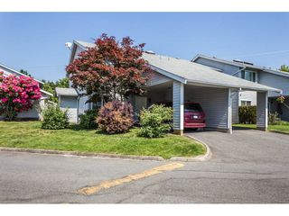 "Photo 1: 38 26970 32 Avenue in Langley: Aldergrove Langley Townhouse for sale in ""Parkside Village"" : MLS®# R2270455"