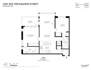 "Photo 20: 804 4118 DAWSON Street in Burnaby: Brentwood Park Condo for sale in ""TANDEM"" (Burnaby North)  : MLS®# R2374622"