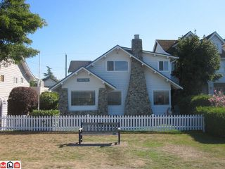 "Photo 1: 2854 O'HARA Lane in Surrey: Crescent Bch Ocean Pk. House for sale in ""Crescent Beach Waterfront"" (South Surrey White Rock)  : MLS®# F1122870"