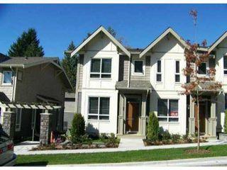 Photo 1: # 15 3395 GALLOWAY AV in Coquitlam: Burke Mountain Condo for sale : MLS®# V1002411