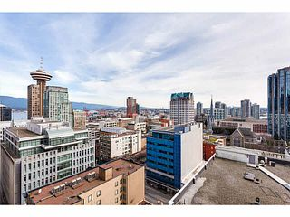 "Photo 1: 1616 610 GRANVILLE Street in Vancouver: Downtown VW Condo for sale in ""THE HUDSON"" (Vancouver West)  : MLS®# V1108334"