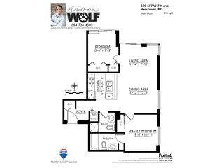 "Photo 10: 605 587 W 7TH Avenue in Vancouver: Fairview VW Condo for sale in ""THE AFFINITY"" (Vancouver West)  : MLS®# V1117685"