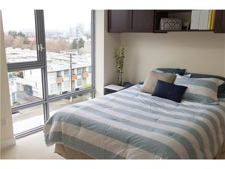"""Photo 5: 605 587 W 7TH Avenue in Vancouver: Fairview VW Condo for sale in """"THE AFFINITY"""" (Vancouver West)  : MLS®# V1117685"""