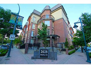 "Photo 1: 104 2628 MAPLE Street in Port Coquitlam: Central Pt Coquitlam Condo for sale in ""VILLAGIO"" : MLS®# V1129193"