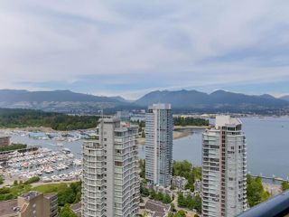 Photo 2: 3201 1189 MELVILLE Street in Vancouver: Coal Harbour Condo for sale (Vancouver West)  : MLS®# R2103601