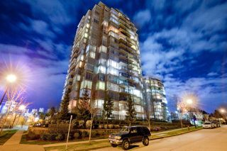 "Photo 1: 709 555 DELESTRE Avenue in Coquitlam: Coquitlam West Condo for sale in ""CORA TOWERS"" : MLS®# R2253412"