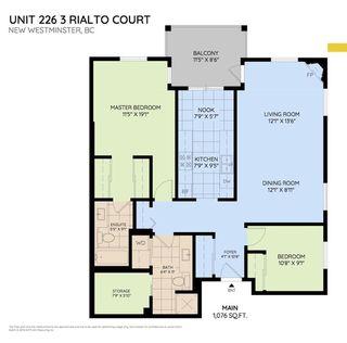 "Photo 3: 226 3 RIALTO Court in New Westminster: Quay Condo for sale in ""The Rialto"" : MLS®# R2281485"