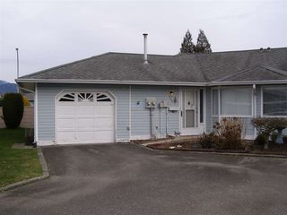 "Main Photo: 126 7610 EVANS Road in Chilliwack: Sardis West Vedder Rd House 1/2 Duplex for sale in ""COTTONWOOD REITREMENT VILLAGE"" (Sardis)  : MLS®# R2330361"