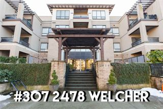 "Photo 1: 307 2478 WELCHER Avenue in Port Coquitlam: Central Pt Coquitlam Condo for sale in ""Harmony"" : MLS®# R2345281"
