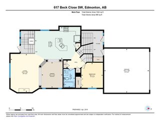 Photo 28: 617 BECK Close in Edmonton: Zone 55 House for sale : MLS®# E4150363