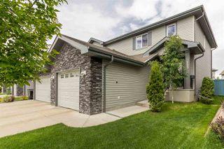 Photo 1: 133 CALVERT Wynd: Fort Saskatchewan House Half Duplex for sale : MLS®# E4160706