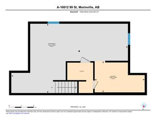 Photo 23: A 10012 99 Street: Morinville House Half Duplex for sale : MLS®# E4183090