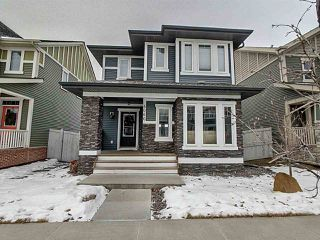 Photo 1: 4066 MORRISON Way in Edmonton: Zone 27 House for sale : MLS®# E4223156