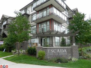 "Main Photo: 410 15322 101ST Avenue in Surrey: Guildford Condo for sale in ""Escada"" (North Surrey)  : MLS®# F1121258"