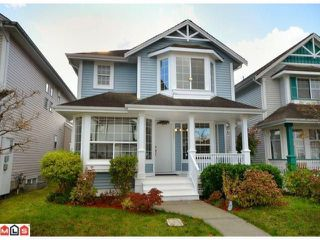 "Photo 1: 18588 64A Avenue in Surrey: Cloverdale BC House for sale in ""CLOVER VALLEY BY PARKLANE HOMES"" (Cloverdale)  : MLS®# F1201702"