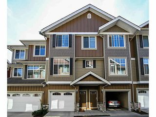 Photo 1: 46 3009 156TH Street in Surrey: Grandview Surrey Townhouse for sale (South Surrey White Rock)  : MLS®# F1436644