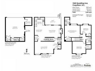 Photo 20: 1060 QUADLING Avenue in Coquitlam: Maillardville House 1/2 Duplex for sale : MLS®# V1139275