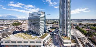 """Photo 1: 1607 488 SW MARINE Drive in Vancouver: Marpole Condo for sale in """"MARINE GATEWAY"""" (Vancouver West)  : MLS®# R2178755"""