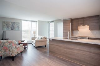 """Photo 8: 1607 488 SW MARINE Drive in Vancouver: Marpole Condo for sale in """"MARINE GATEWAY"""" (Vancouver West)  : MLS®# R2178755"""