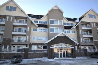 Photo 1: 423 10 Linden Ridge Drive in Winnipeg: Linden Ridge Condominium for sale (1M)  : MLS®# 1800863