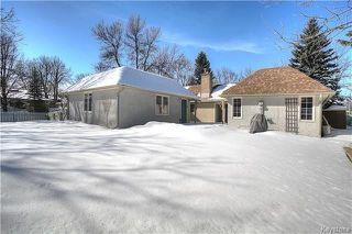 Photo 17: 419 Southport Boulevard in Winnipeg: Tuxedo Residential for sale (1E)  : MLS®# 1805555