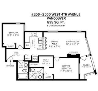 """Photo 19: 206 2555 W 4TH Avenue in Vancouver: Kitsilano Condo for sale in """"SEAGATE"""" (Vancouver West)  : MLS®# R2292277"""