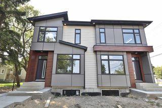 Main Photo: 9450 150 Street in Edmonton: Zone 22 House Half Duplex for sale : MLS®# E4123375