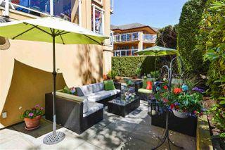 "Photo 1: 112 15155 22 Avenue in Surrey: Sunnyside Park Surrey Condo for sale in ""Villa Pacifica"" (South Surrey White Rock)  : MLS®# R2348668"
