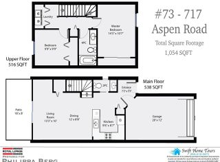 Photo 3: 73 717 ASPEN ROAD in COMOX: CV Comox (Town of) Row/Townhouse for sale (Comox Valley)  : MLS®# 811391