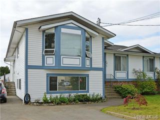 Photo 1: 1025 Goldstream Ave in VICTORIA: La Langford Proper Half Duplex for sale (Langford)  : MLS®# 699433