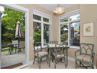 "Photo 6: 121 3188 W 41ST Avenue in Vancouver: Kerrisdale Townhouse for sale in ""THE LANESBOROUGH"" (Vancouver West)  : MLS®# V1123090"