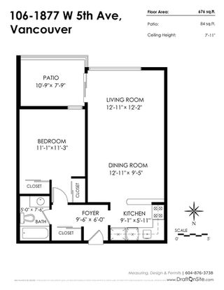 """Photo 17: 106 1877 W 5TH Avenue in Vancouver: Kitsilano Condo for sale in """"WEST ON 5TH"""" (Vancouver West)  : MLS®# R2197302"""