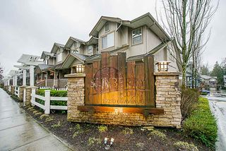 "Main Photo: 47 19250 65 Avenue in Surrey: Clayton Townhouse for sale in ""Sunberry Court"" (Cloverdale)  : MLS®# R2328118"