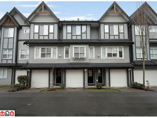 Photo 1: 51 8737 161ST Street in Surrey: Fleetwood Tynehead Townhouse for sale : MLS®# F1106547
